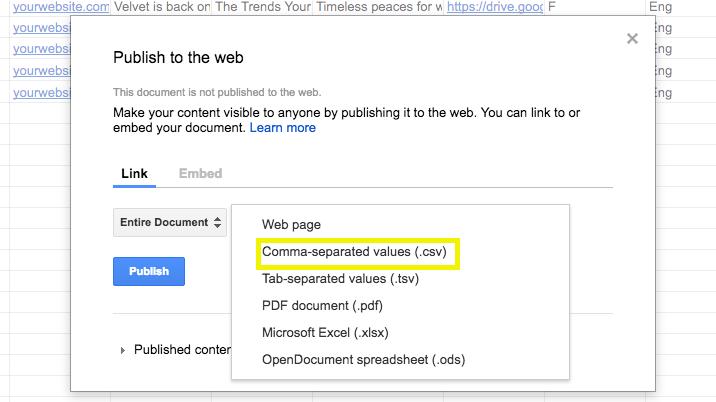 5 steps automated prospecting google sheets_csv