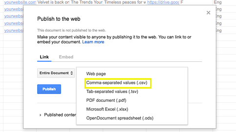 5 steps automated prospecting google sheets_csv