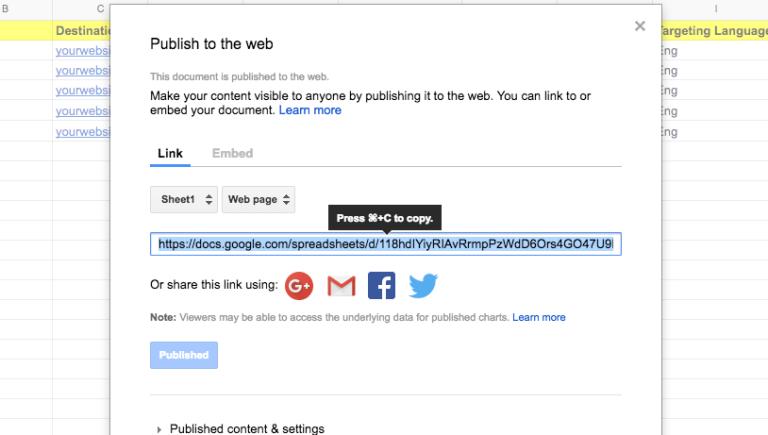 5 steps automated prospecting google sheets_webpage