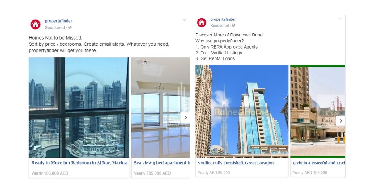 Property Finder Facebook Ads