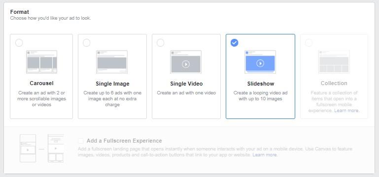 Slideshow Ads