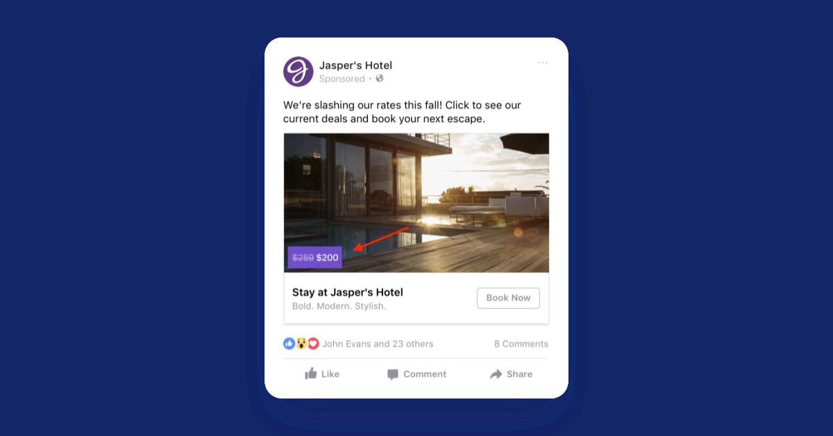 facebooks advertising options