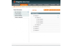 product feed magneto roi hunter admin panel 6