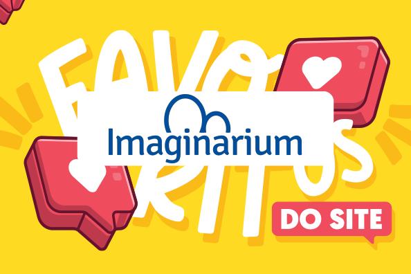 Imaginarium logo and background