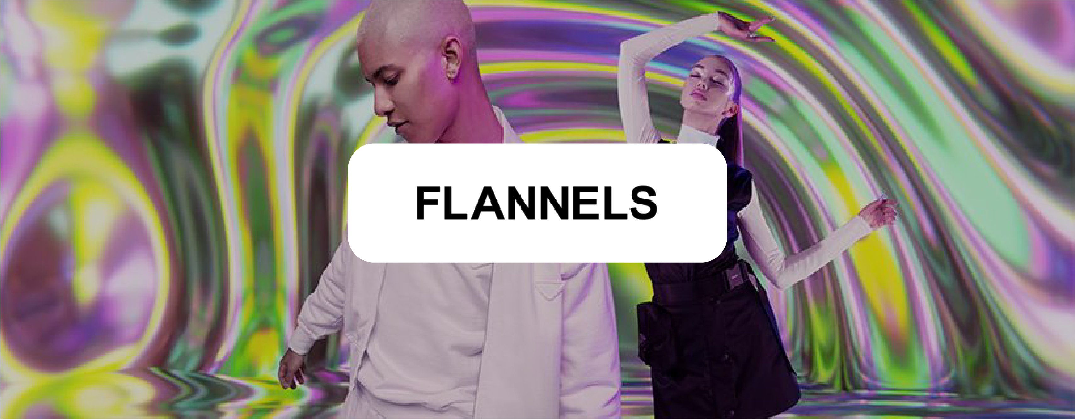 Flannels logo and background